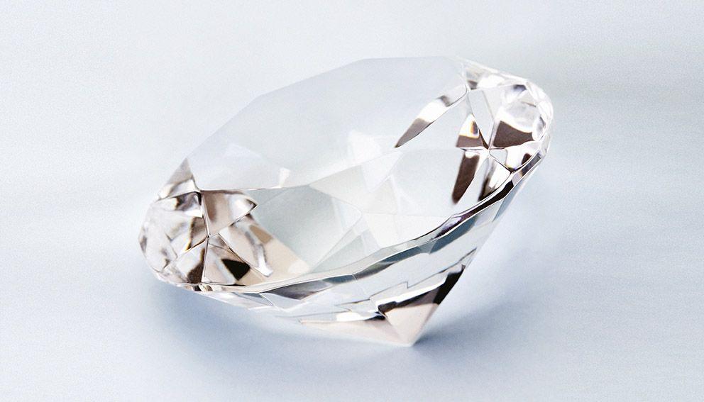 Diamant, symbole de la marque Sprint