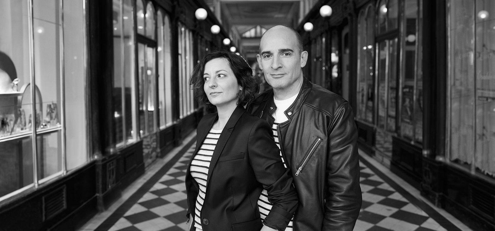 Stéphanie Jardy et Olivier Jardy de l'agence communication Jardy&Jardy